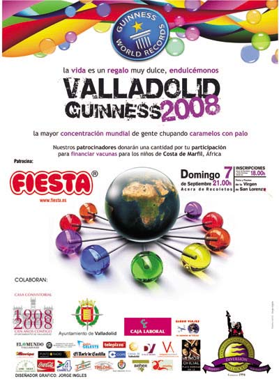Record Guinness Valladolid